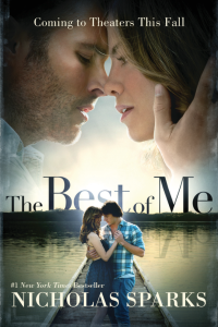 'Best of Me' book cover available at nicholassparks.com